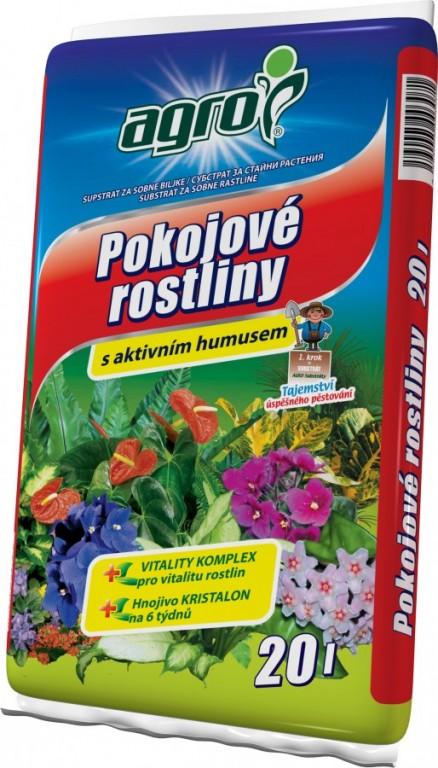 AGRO Substrát pro pokojové rostliny, 20l