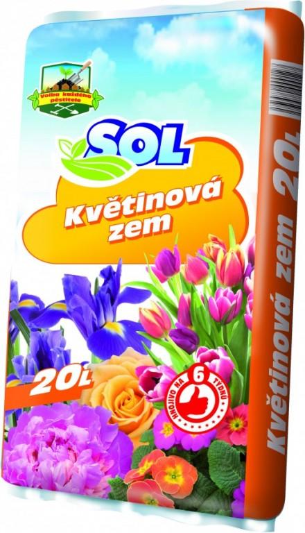 SOL Květinová zem, 20l