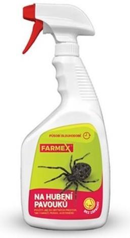 Farmex na hubení pavouků, 250 ml