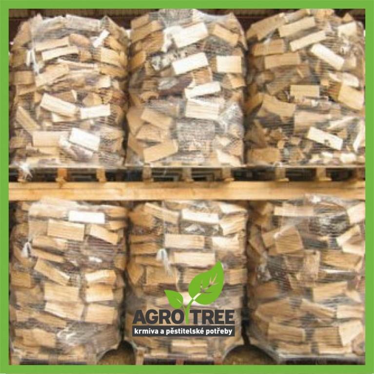 Štípané sušené palivové dřevo měkké 1,7 PRMs