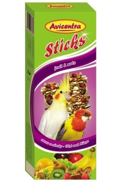Avicentra tyčinky pro malé a střední papoušky