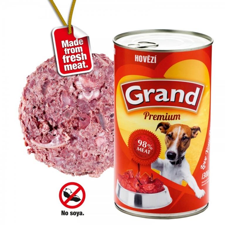 Grand Premium hovězí, 1300 g