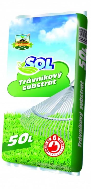 SOL Trávníkový substrát, 50l