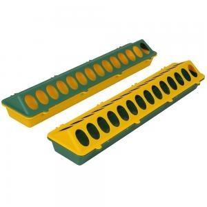 Plastové podlahové krmítko pro brojlery s otvory 50cm