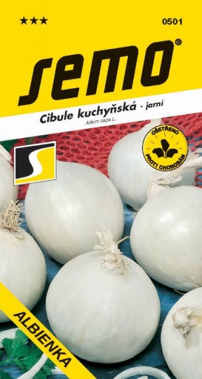 Cibule jarní Albienka bílá, 1,5 g