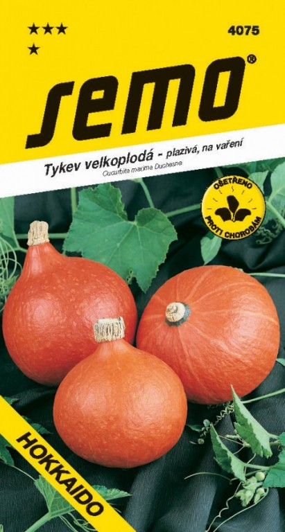 Tykev velkoplodá - Hokkaido orange 1,5 g