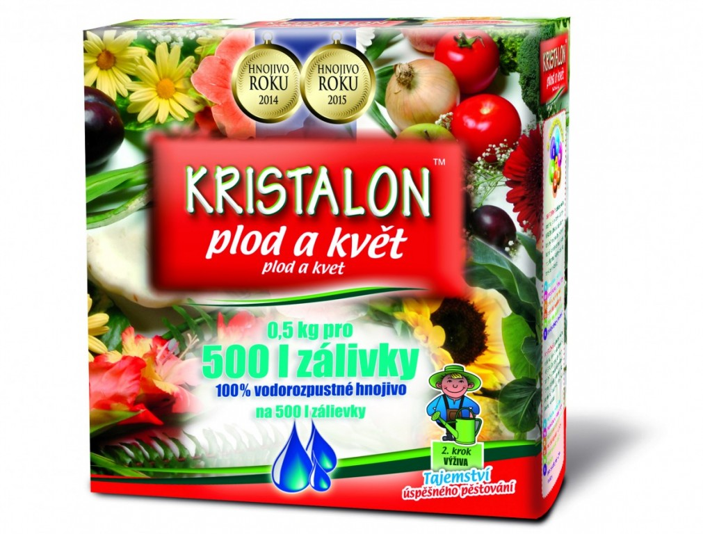 KRISTALON Plod a květ, 0,5 kg