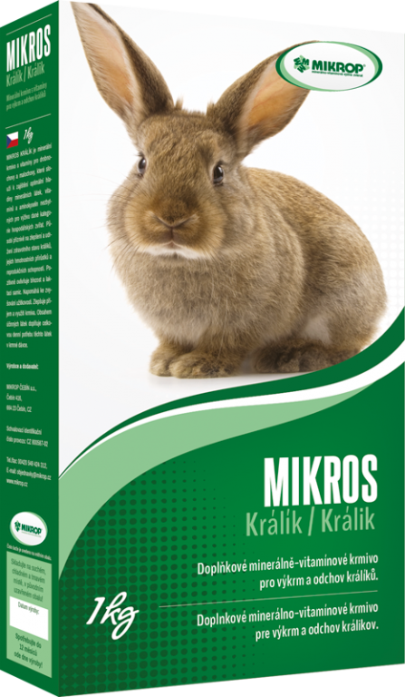 Mikros králík, 1 kg