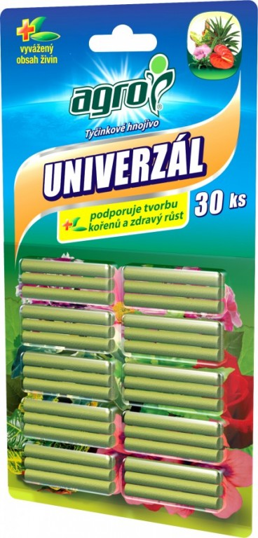 AGRO Univerzální tyčinkové hnojivo, 30 ks