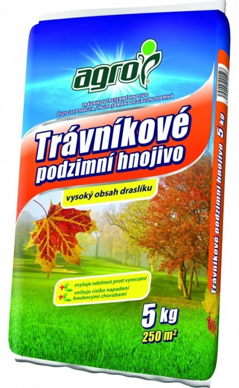 AGRO Podzimní trávníkové hnojivo, 5 kg