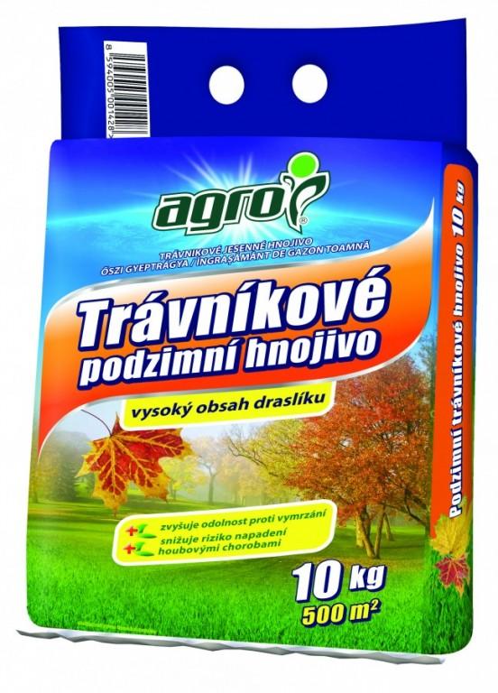 AGRO Podzimní trávníkové hnojivo, 10 kg