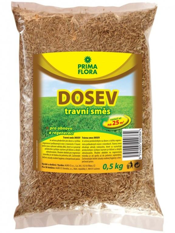 PRIMAFLORA Travní směs DOSEV, 0,5 kg