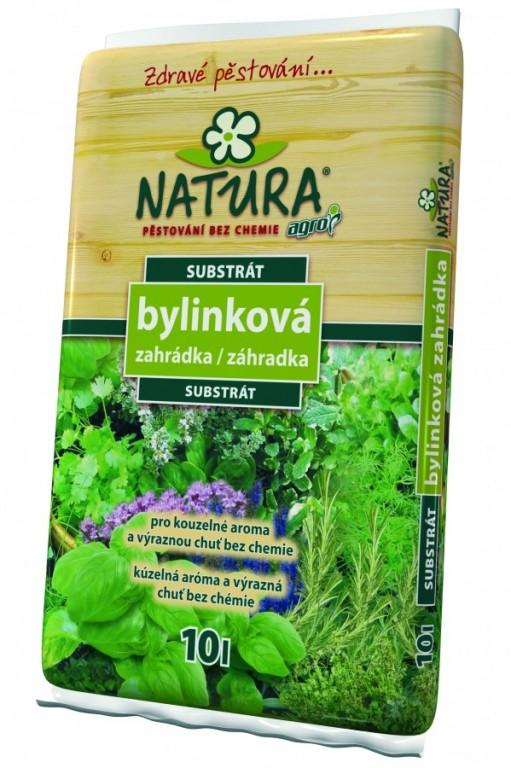 NATURA Substrát bylinková zahrádka, 10 l