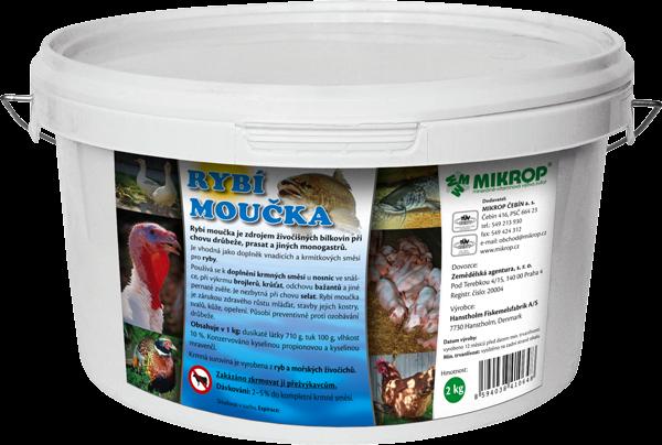Mikrop rybí moučka, 2 kg