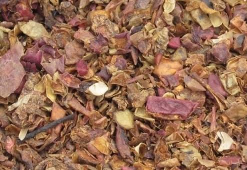 Jablečné výlisky,úsušky vážené, 1 kg