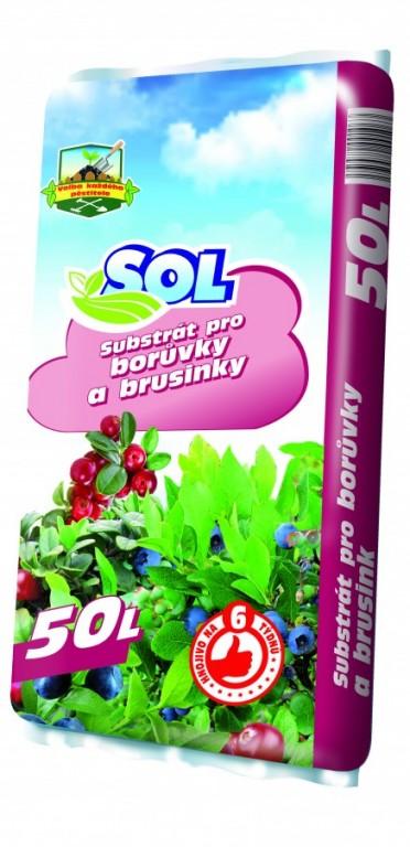 SOL Substrát pro borůvky a brusinky, 50l